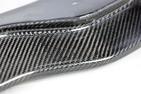 Carbon Fiber Front Chin Lip Spoiler For Corvette C7 Z06 Stingray Stage 2 2014-17