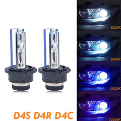 1 set D4S D4C D4R HID OEM Direct Replacement Headlight Xenon Beam Bulbs 6000K 8000K 10000K 12000K