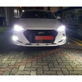 LED Fog Light Bulb White 6000K Upgrade Kit for Hyundai Veloster 2012 2013 2014 2015 2016 2017