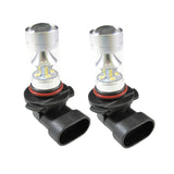 (2) X-Bright 6000K White\ 3000K Amber 100W 9005 LED Bulbs DRL Lights Fog lamps