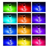 Remote Control T10 5050 LED RGB Multi-color Interior Wedge Lamp Parking side-marker Lights