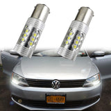 6000K Xenon White 1156 RV Camper Trailer LED Interior Lights Turn Signal Bulbs
