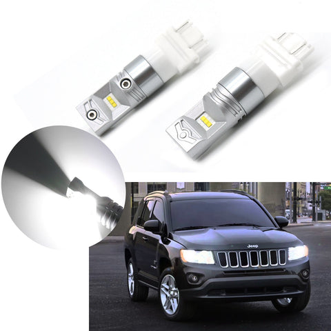 100W Bright White 3157 4157NA 4114 LED Bulbs Daytime Running Lights