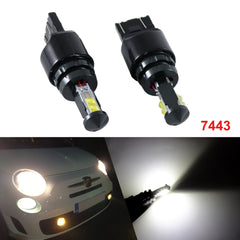 Xenon White 7443 7444 7441 CREE LED Bulbs Daytime Running Light DRL Turn Signal Brake Tail Back Up Reverse Lights DRL