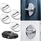 Chrome Stainless Steel Car Door Lock Cover Protector Trims 4pcs for Honda Accord Sedan 10th Gen 2018 2019 2020