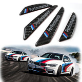 M Performance Strips Carbon Car Side Door Edge Guard Protection Stickers fit BMW (two styles)