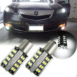 6000K White 1157 50-SMD LED Lamp For Turn Signal Parking Lights
