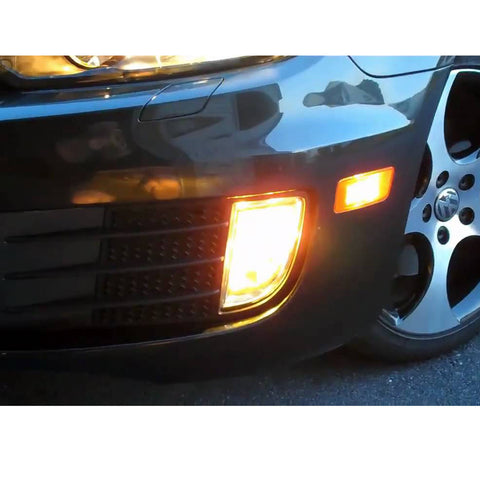1set 9005 9006 H10 9145 Blue/Yellow Dual Color Switchback LED Fog Driving Running Lights Kit