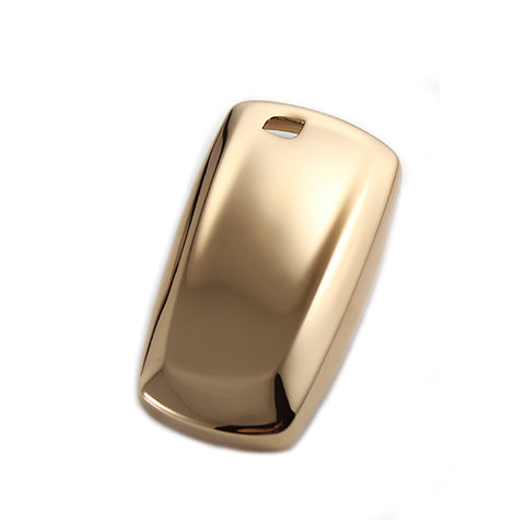 Glossy TPU Remote Smart Key Cover Fob Case Shell Cap Fit BMW 1 3 4 Series[Silver/Gold/Pink/Black]