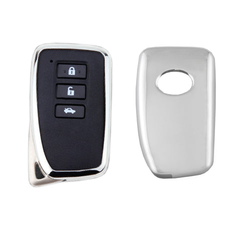 TPU Car Auto Remote Key Cover Case Protective For Lexus IS LS RC GX[Black\Blue\Red\Rose Gold\Silver]