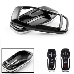 Glossy Black Key Fob Shell Cover For 2015-up Ford Mustang 2013-up Lincoln MKZ Intelligent Access Smart Key