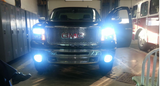 H10 9145 9140 9050 106-SMD CREE LED DRL Fog Lights Driving Bulbs DRL Daytime Running Lamps White/Ice Blue
