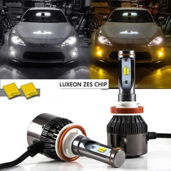 H11 H8 36000LM White Yellow LED Fog Driving Light Kit For 2013 2014 2015 2016 Scion FR-S Subaru BRZ Headlight