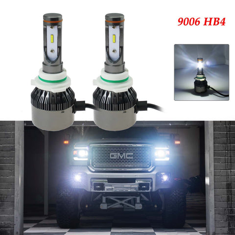 6000K Xenon White 9006 HB4 LED Bulbs Headlight Low Beam Conversion Kit For Honda Mitsubishi Nissan Dodge etc