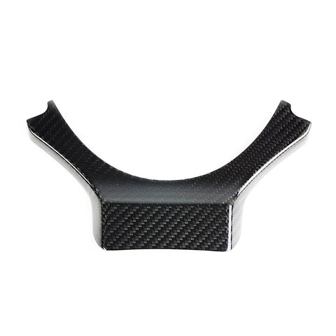 CARBON FIBER STEERING WHEEL ADD-ON TRIM COVER FOR 2015-17 LEXUS RC350 200T RC F
