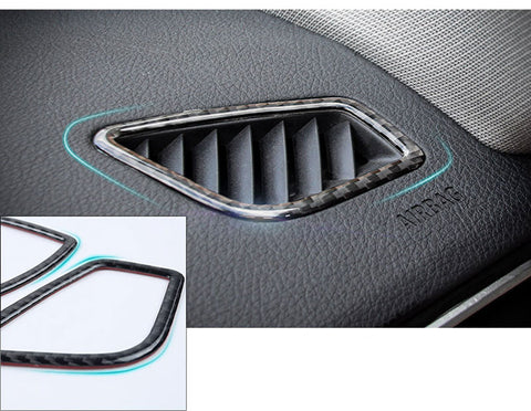 1X FULL SET INTERIOR TRIM COVER STICKERS REAL CARBON FIBER FOR BMW 3 4 SERIES