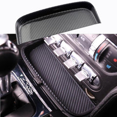 Real Carbon Fiber Change Coin Tray Box For 2015-2017 Ford Mustang S550 GT V6