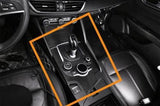 Real Carbon Fiber Car Interior Cover Trim Sticker for 17+ Alfa Romeo Giulia[Dashboard Console \ Center Console \ Central Console Shifter \ Console Storage Box Panel]