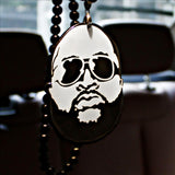 Rearview Mirror Hanging Charm Dangling Beaded Pendant For Car Decoration