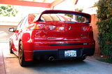 2x Smoked Lens Bumper Reflector LED Brake Stop Lights For Mitsubishi Lancer EVO X Outlander