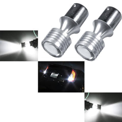 1157 2357 White 60W CREE XP-E LED Projector Turn Signal DRL Parking Lights