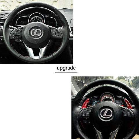 NEW Aluminium Steering Wheel DSG Extension Shift Paddle For Lexus GS F GS GX NX IS RC RCF