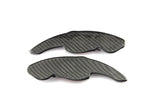 Carbon Fiber Paddle DSG Shifter Extensions Trim for Volkswagen VW Golf 5 6 MK5 MK6 CC Jetta