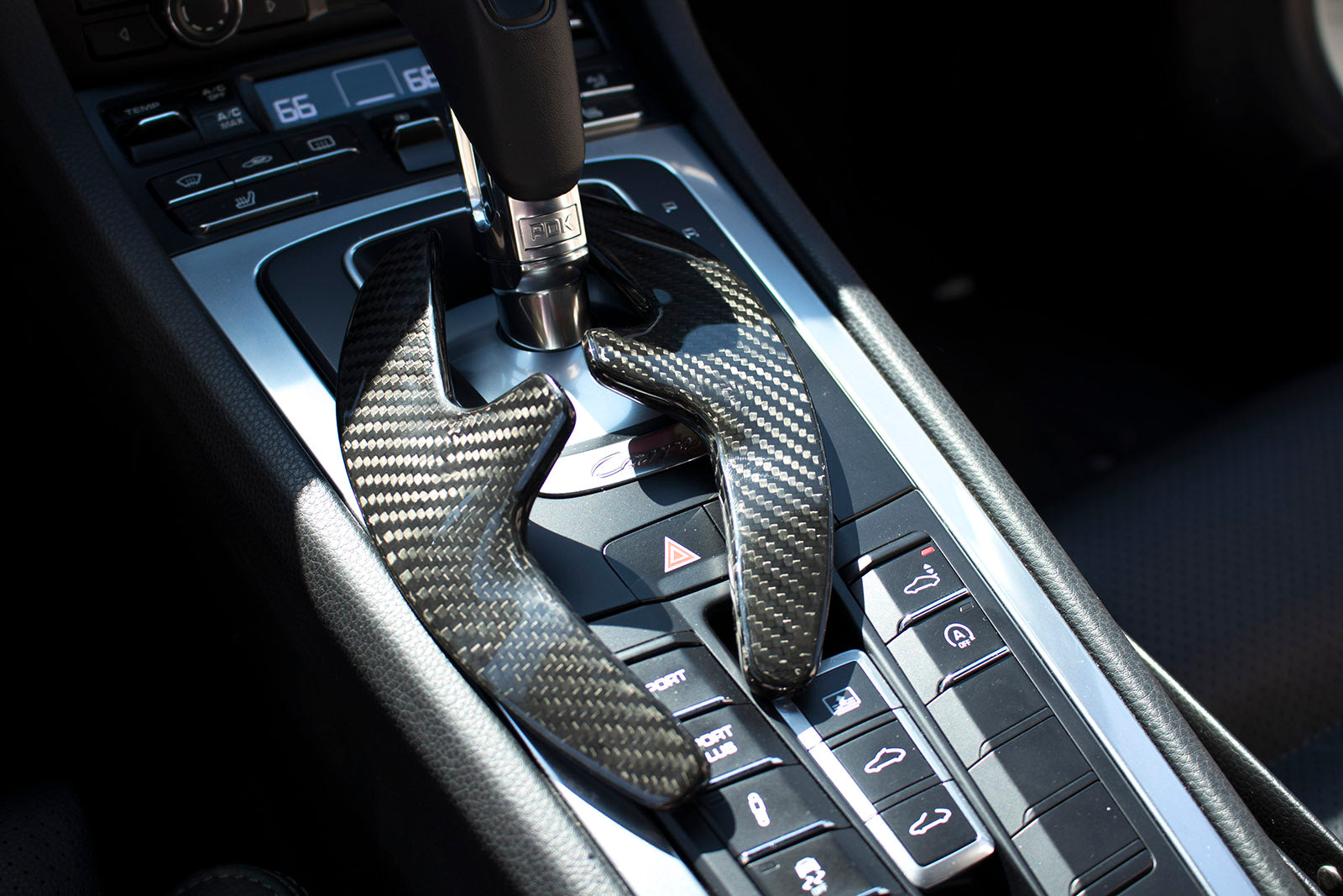 Carbon Fiber Pdk Paddle Shifter Extensions For 2009