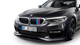 M SPORT COLORED CENTER KIDNEY GRILLE INSERT TRIM STRIPS 17+ BMW G30 G31 5 SERIES 520i 530i 540i M550i 520d 525d 530d 540d (9 beam bars)