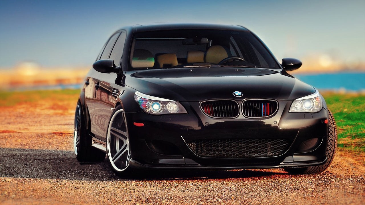 M Colored Kidney Grille Insert Trim Tri Color Strips For Bmw 5 Series Xotic Tech