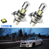 High Power 6000k White H4 CREE 10-SMD LED Bulbs Car Fog Lamp Light 9003