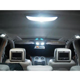 2008 - 2012 up Mitsubishi Lancer Evo X 6-Light LED Full Interior Lights Package Kit [White\ Blue]