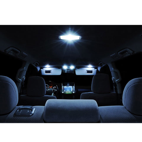 2009-2015 Ford F-150 F150 10x Light Bulbs SMD Interior LED Lights Package Kit White\ Blue