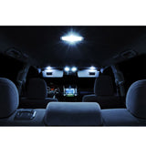 2008-2012 Chevy Malibu 10x Light Bulbs SMD Interior LED Lights Package Kit White\ Blue