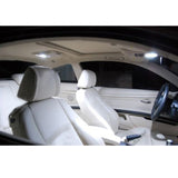2006 - 2011 BMW E90 E92 3 Series 10-Light LED Full Interior Lights Package Kit White\ Blue