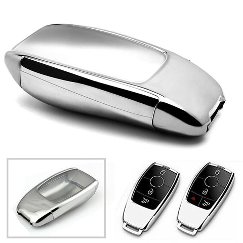 TPU Full Sealed Keyless Key Fob Cover For Mercedes Benz E-Class E300 E400 S-Class S63 AMG