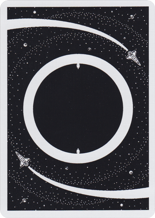 Orbits V4 Playing Cards by Chris Brown