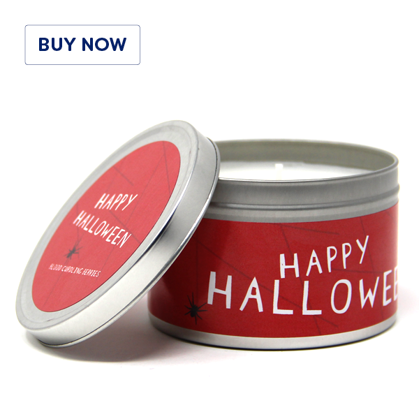 Halloween Tin Candle Design – Blood Curdling Berries