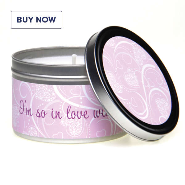 In-Love, I'm So In Love With You Gift Tin Candle
