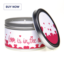 In-Love Love Is In The Air Romantic Gift Tin Candle
