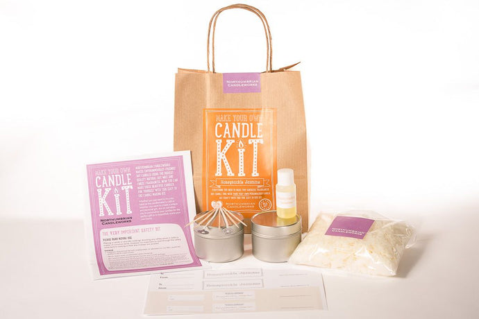 Make Your Own Candle Kit - Honeysuckle Jasmine