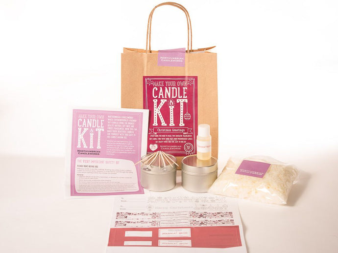 Make Your Own Candle Kit - Seasonal Spice