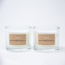 CLASSIC Range - Medium Scented Glass Candles (Set of 2)