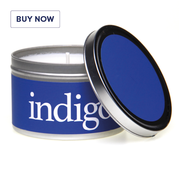 Rainbow Gift Tin Candle Range - Indigo - Various Scents