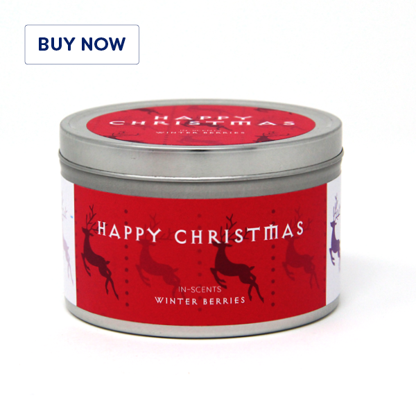 Winter Berries Christmas Scented Candle