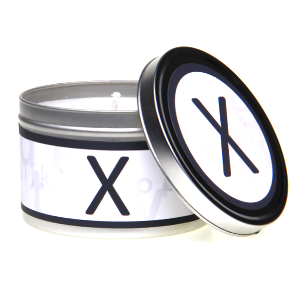 In-Scents Personalised In-itial Alphabet Letter X Gift Tin Candle - Various Scents