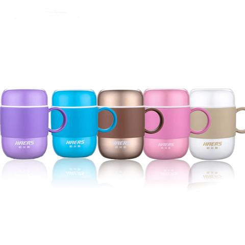 Stainless Steel Candy Colored Coffee Thermos Mug