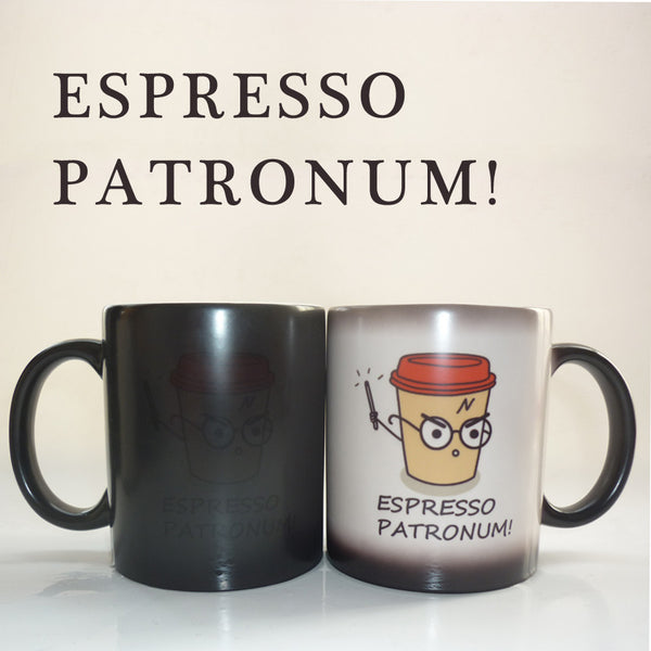 Espresso Patronum Harry Potter Magic Color Changing Mug