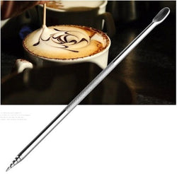 Stainless Steel Coffee Decorating Needle