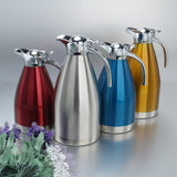 Deluxe Double Wall Stainless Steel Thermal Coffee Pot